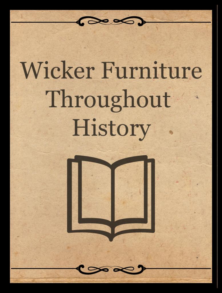 Siguiendo las tendencias de los muebles de mimbre a lo largo de la historia