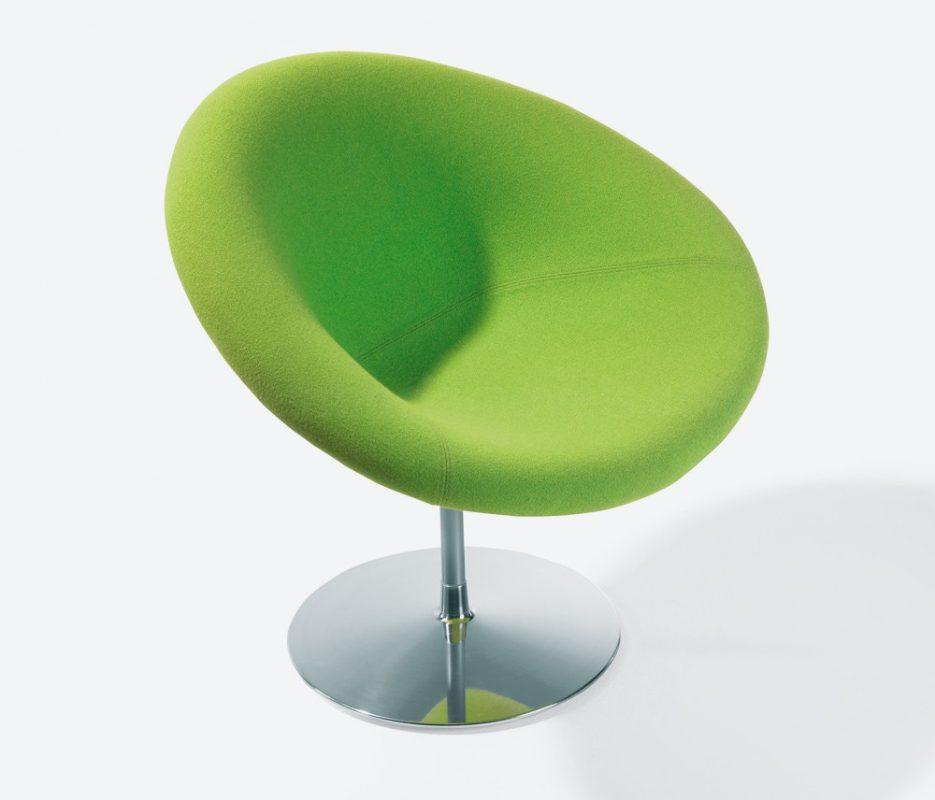 pequeño sillón góndola verde