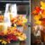 ¡Decora tu hogar con Hojas de otoño!  Aquí hay 22 hermosas ideas …