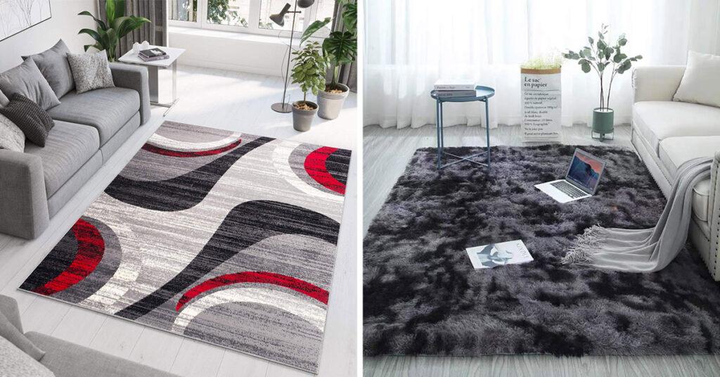 ¡15 ideas para una hermosa alfombra moderna en la sala de estar!  Inspírate