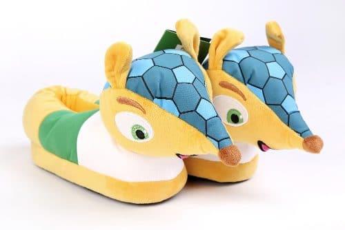 Mascota del corazón de zapatillas