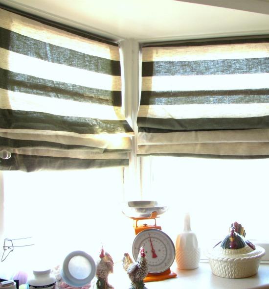 Transforma las persianas feas en elegantes cortinas de tela {Scoutie Girl}