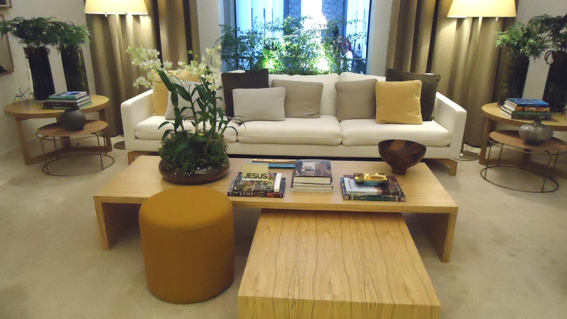 Casa Cor SP 2015 - habitación luminosa con beige