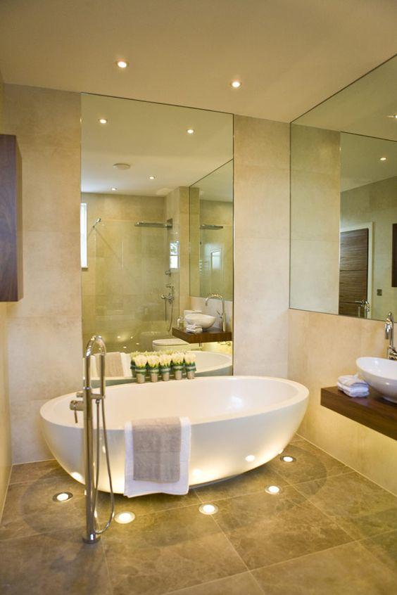 ideas de decoracion de baños 20