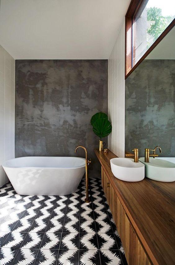 ideas de decoracion de baños 15