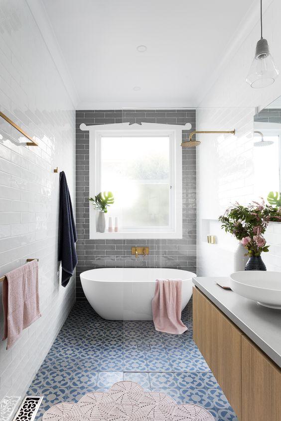 ideas de decoracion de baños 17