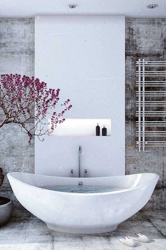 Resalta la bañera