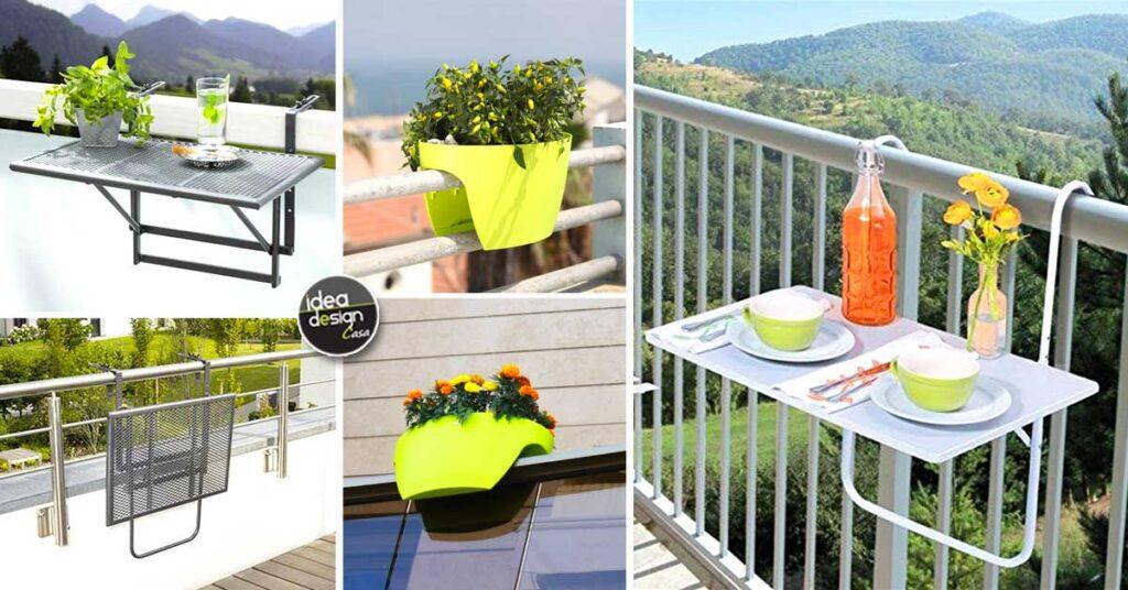 ¡Astutas mesas de centro y accesorios para el balcón!  15 ideas imperdibles …